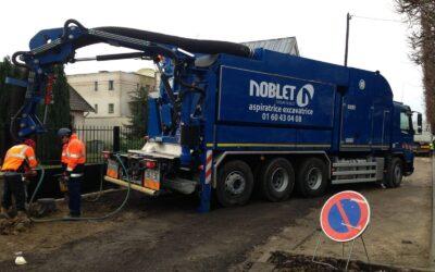 Pour faire face à la demande, le Groupe Noblet investit dans une 3eme aspiratrice