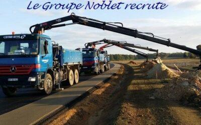 Le Groupe Noblet recrute 11 chauffeurs poids lourd