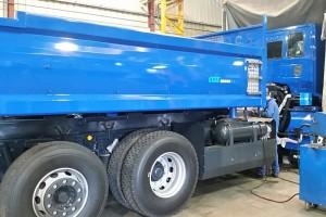 Le carrossage du premier camion gaz de Noblet progresse bien
