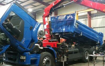 Le carrossage du camion au biogaz se termine et la station de recharge va bientôt arriver