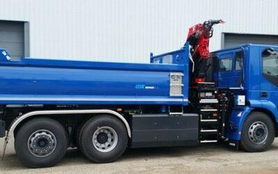 Le premier camion biogaz de Noblet est prêt