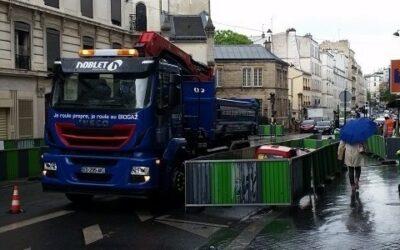 Premier chantier pour le premier camion biogaz de Noblet