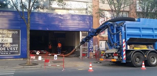 Terrem (Groupe Noblet) dépollue un ancien garage automobile dans Paris pour Valgo