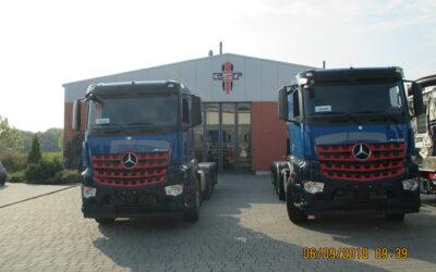 Les 2 prochaines aspiratrices sont arrivées pour carrossage chez RSP