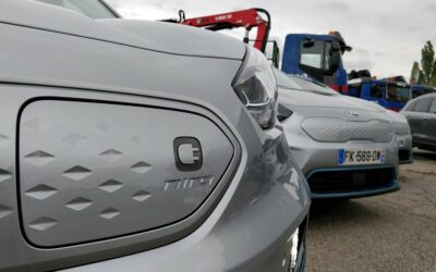 Noblet recoit 4 voitures électriques Kia e-Niro