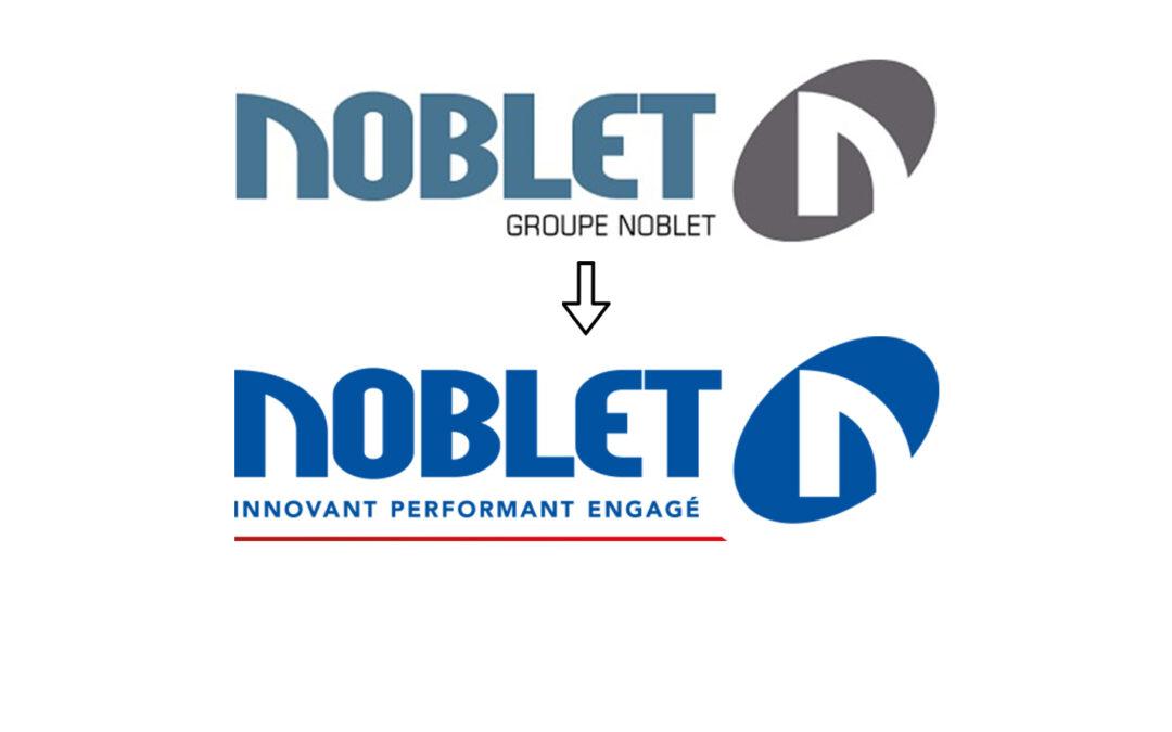 Changement d'Identité du Groupe Noblet, service aux entreprises de travaux publics